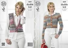 King Cole Drifter Double Knitting - Pattern 4259