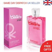 Love & Desire Pheromones for Women 100ml ATTRACT HANDSOME MEN Eau de Toilette