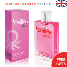 Love & Desire Pheromones for Women 100ml ATTRACT HANDSOME MEN Eau de Toilette
