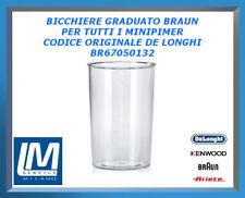 BICCHIERE GRADUATO BRAUN PER TUTTI I MINIPIMER BR67050132 DE LONGHI ORIGINALE
