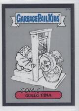2013 Topps Garbage Pail Kids Chrome #37a Guillo Tina Non-Sports Card 0a1