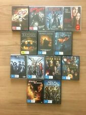 13 Dvd set of Superhero Movies: Batman Ironman 2 Xmen Hellboy 300 Sin City Comic
