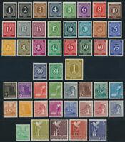 Alliierte Besetzung 1946, MiNr. 911-937 und 943-962, tadellos postfrisch