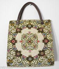 Damen Gobelin Handtasche Vintage V364