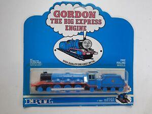 ERTL Thomas the Tank Gordon The Big Express Engine Paper Face Die Cast 1989