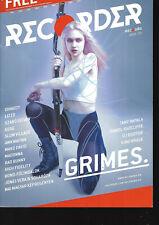 Hungarian Magazine Recorder - 080 - Grimes cover - Claire Elise Boucher