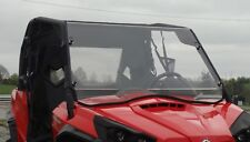 Can Am Commander 2-Pc Vented Windshield w/QI Straps-Free Shipping