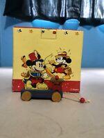 Walt Disney Mickey Mouse Playing Xylophone Enesco Toy Figurine Vintage 363375