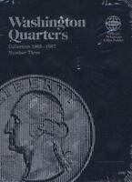Washington Quarter Folder 1965-1987 [Official Whitman Coin Folder] [ Whitman ] U