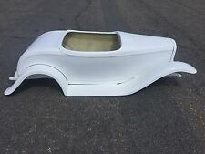 1932 Ford Roadster hot rod stroller pedal car fiberglass body with fender kit