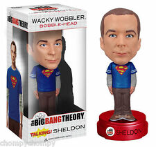 Funko Big Bang Theory Talking Sheldon Cooper Bobble Head (Superman Shirt)