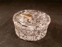 STUNNING NACHTMANN BLEIKRISTALL CRYSTAL GLASS ROUND TRINKET POT DISH
