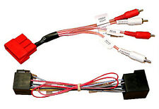PC9-410 Audi A3 A4 A6 A8 Allroad RCA Fully Amplified Bypass Wiring harness Lead
