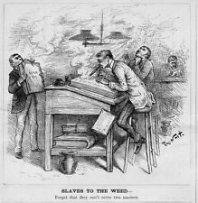 THOMAS NAST SLAVES TO THE WEED, CAN'T SERVE TWO MASTERS
