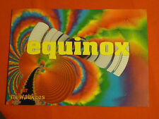 Equinox at Milwaukees rave flyer / flyers -  April 1993 Mint