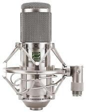 Profi Studio Mikrofon Kondensator Gesangsmikrofon XLR Microphone Spinne Silber