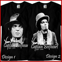 Captain Beefheart Tribute Rock Band Music Black T-Shirt TShirt Tee Size S-3XL