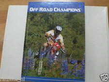 OFF ROAD CHAMPIONS 2004 ENDURO BOOK EVERTS,SEEL,ALBERGONI,TOWNLEY,ENDERLEIN,SAIN