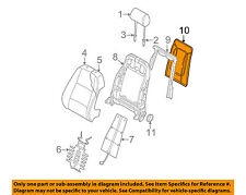 AUDI OEM 02-05 A4 Quattro Front Seat-Seat Back Panel Trim 8E0881969BQAW