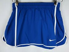 Nike Lacrosse Tennis Training Skirt Womens Size Medium Blue Crossfit Workout New