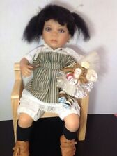 """Linda Steel Doll """"Ramona"""" Signed And Numbered 1542/2000 1993"""