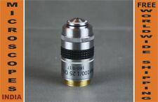 PLAN Microscope Oil 100x Objective w IRIS Diaphragm Brightfield & Darkfield