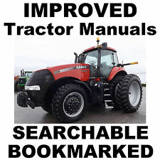 Case IH 255 265 275 TRACTOR SERVICE REPAIR SHOP WORKSHOP MANUAL - IMPROVED  CD