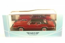 Ford Thunderbird 2-door Landau (Dark Red/Black) 1970
