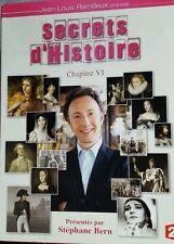 Coffret série documentaire SECRETS D'HISTOIRE - Chapitre 6 - VI - Stéphane Bern