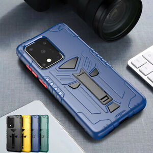 For Samsung S20 Ultra S10 S10E Note10 Plus Case Rugged Bumper Shockproof Cover