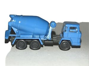 N Scale Cement Truck • Wiking • Vehicle Perfect For Construction Site or Roadway