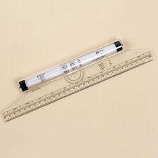 Multi-purpose Clear Metric Parallel Drawing Rolling Ruler measurement tool JKCA
