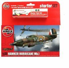 Airfix A55111 Hawker Hurricane Mk.1 Starter Set Plastic Aircraft Model Kit 1:72