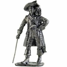 Pirate with monkey Tin toy soldiers 54mm miniature statue. metal sculpture