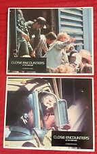Close Encounters Of The Third Kind 1977 lobby cards(2) Sci-Fi