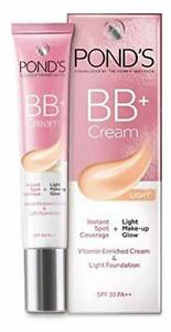 POND'S BB+ Cream Instant Spot Coverage Natural Glow, Light 18 g Free Shipping
