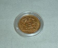 More details for edward vii- half gold sovereign 1909, 22 carat gold 3.98g