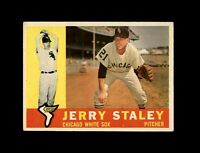 1960 Topps Baseball #510 Jerry Staley (White Sox) EX+