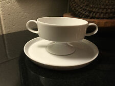 Rosenthal Continental Composition White Footed Cream Soup Bowl
