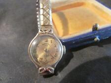 Lovely Vintage Donna Qualità 9ct Oro Orologio Rotary, Lon1963