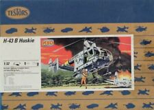 Testors HSO 1:32 H-43 B H-43B Huskie Helicopter Model Kit #7206U