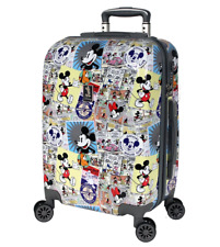 Disney - Comic 28in Large 4 Wheel Hard Suitcase