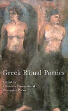 Greek Ritual Poetics (Hellenic Studies)-ExLibrary