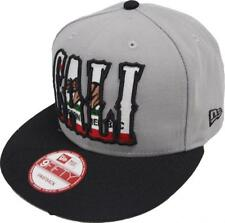 New Era California Edition Bear dans Cali Grey Black snapback CAP 9 Fifty basecaps