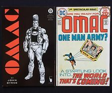 OMAC One Man Army Corps #1 Oct 1974 DC Comics Jack Kirby Sci-Fi Bronze Age Lot