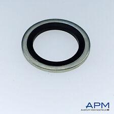 10 Stück Hydraulik Dichtung, Usit-Ring, BS-Ring, Stahl verz. M 10
