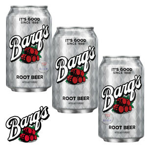 BARQ'S ROOT BEER DRINK CANS 355ml (2 / 4 CANS)