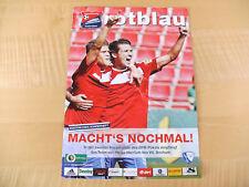 Stadionzeitung Spvgg Unterhaching vs VFL Bochum 2.Runde DFB-Pokal 2011/2012!