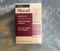 Murad Age Reform Rapid Collagen Infusion 0.17 Fl Oz - New in Box