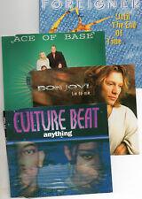 4 MCDs++FOREIGNER, ACE OF BASE, BON JOVI, CULTURE BEAT++1993-1995++gut. Zust.